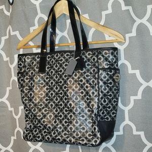 Coach signature C tote bag purse